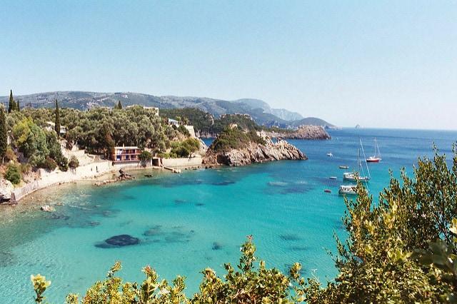 Spiaggia di Corfù (Foto di Michael Gleave)