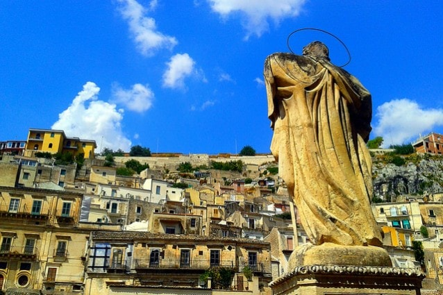 Scorcio di Modica. Foto da Flickr