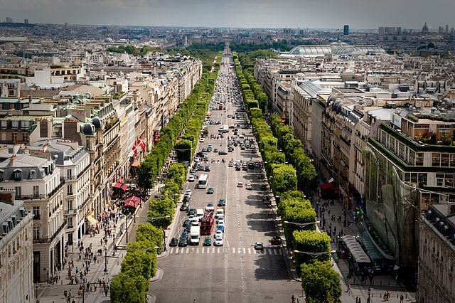 Champs Elysées – Foto Wikipedia