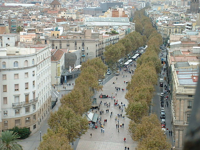 La Rambla – Foto Wikimedia Commons