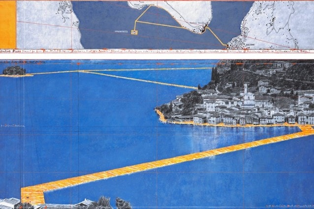 Progetto originale di The Floating Piers