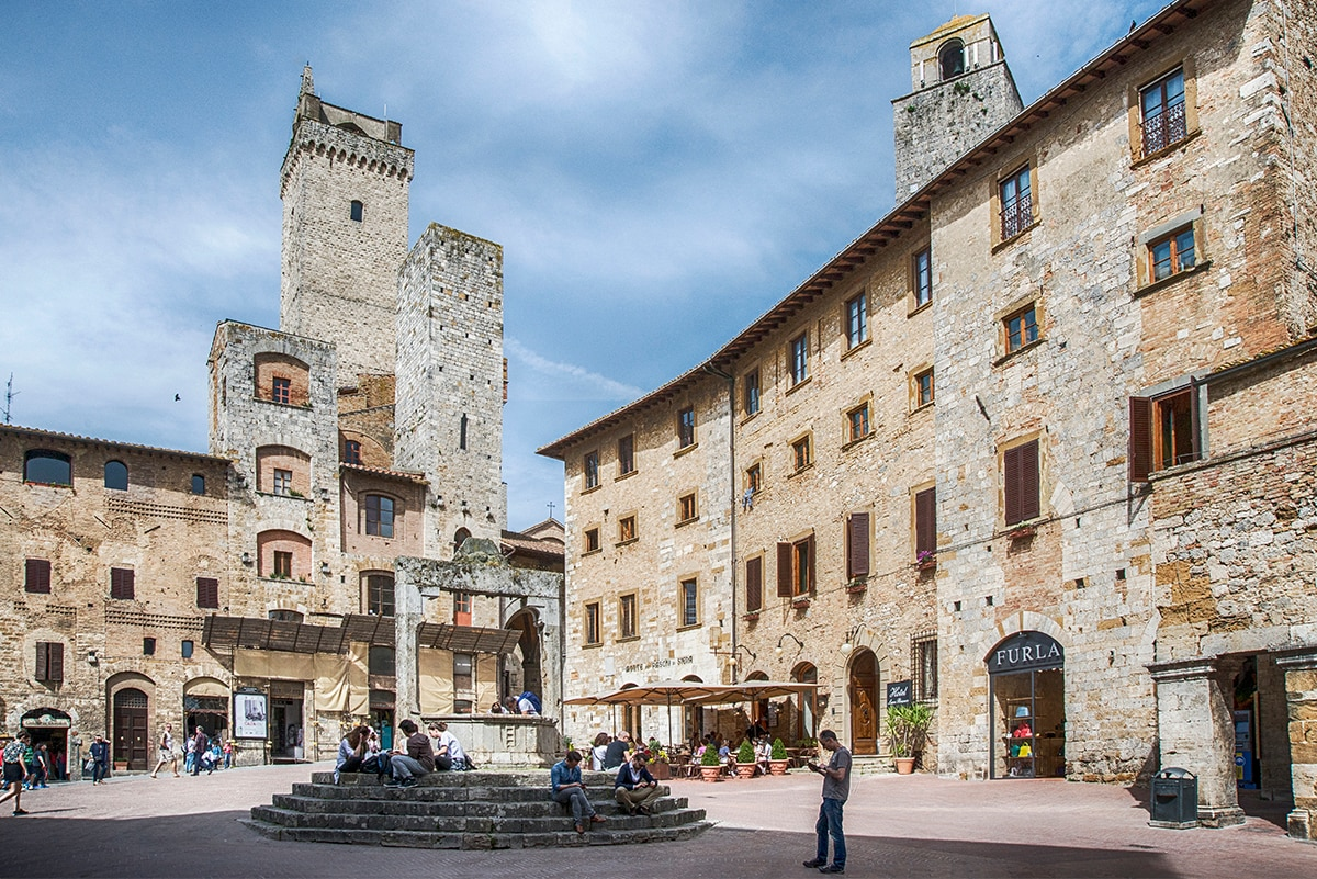 Piazza della Cisterna [@Fanpage.it/Ilaria Vangi]