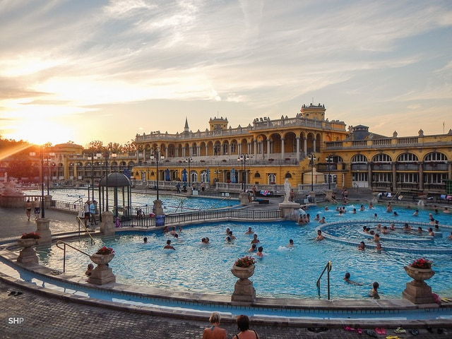 Széchenyi Thermal Bath. Foto da Flickr