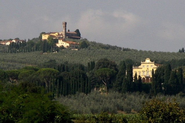 Veduta di Villa Antinori – Credits: Aldo Cavini Benedetti