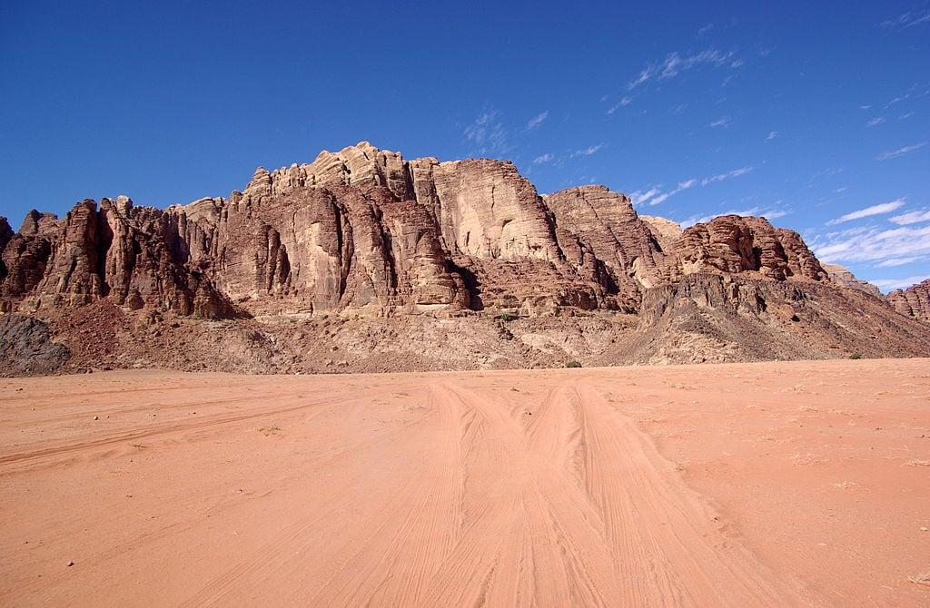 Wadi Rum – Foto Wikimedia Commons