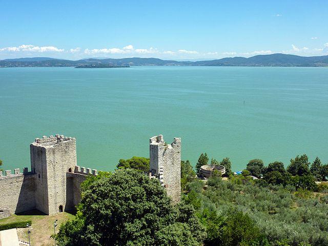 Castiglione del Lago, Lago Trasimeno (Foto Wikipedia)