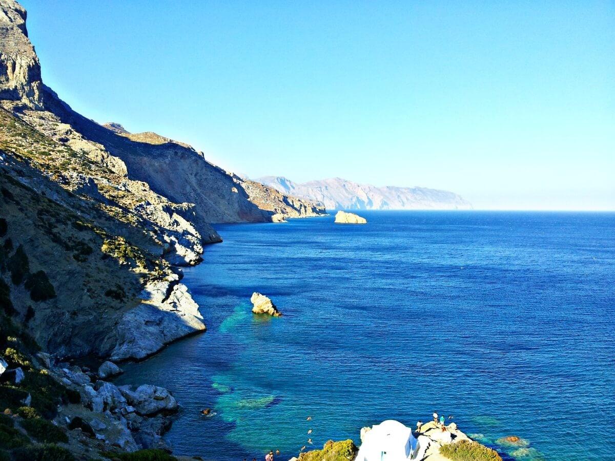 Amorgos – Spiaggia di Agia Anna