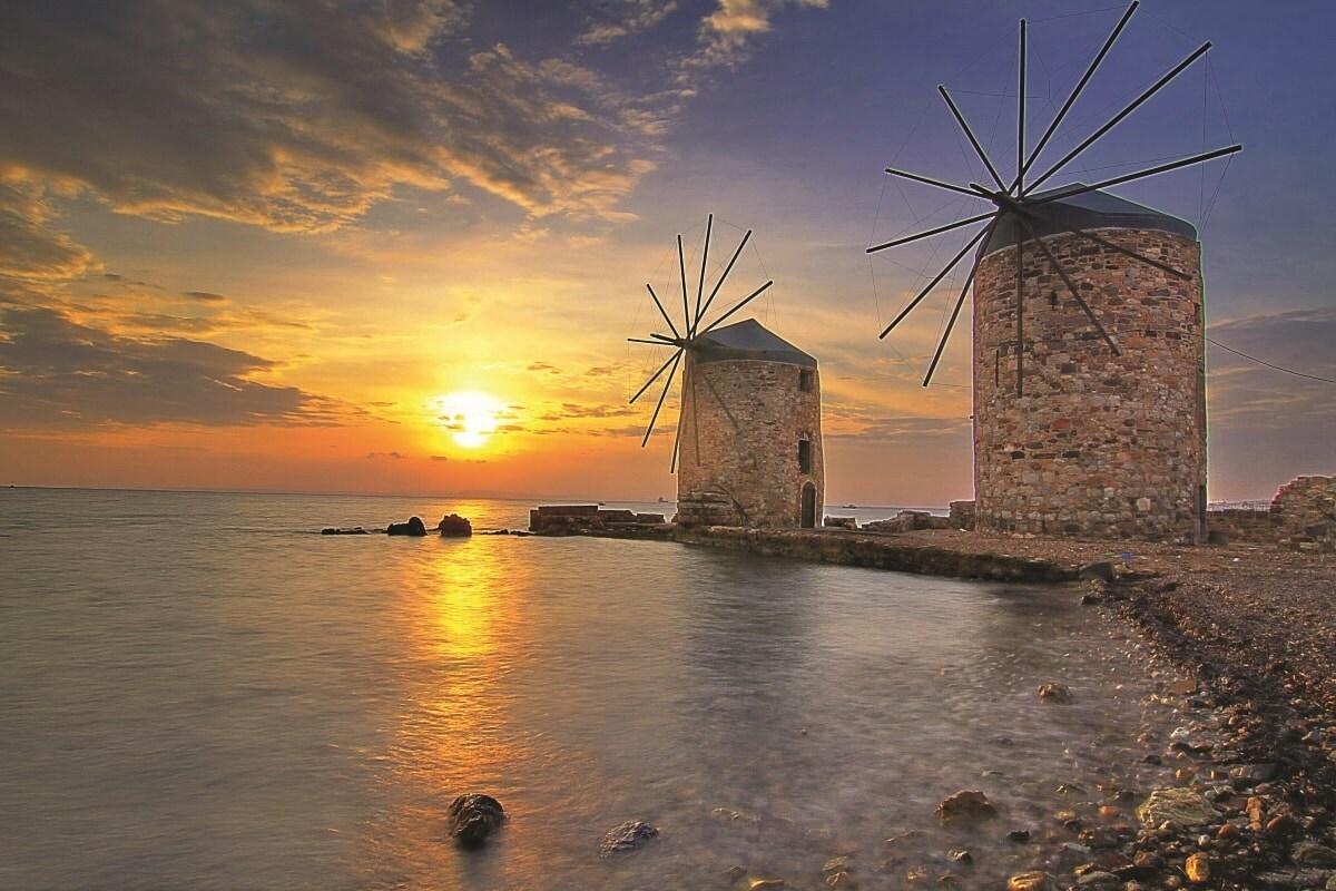 Chios – Mulini