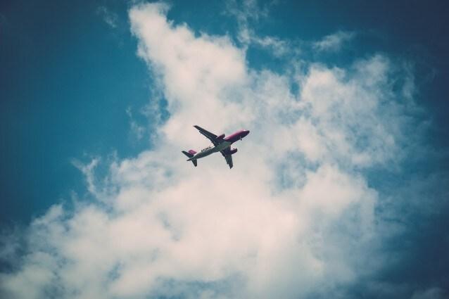 Aereo in volo (Foto Pexels)