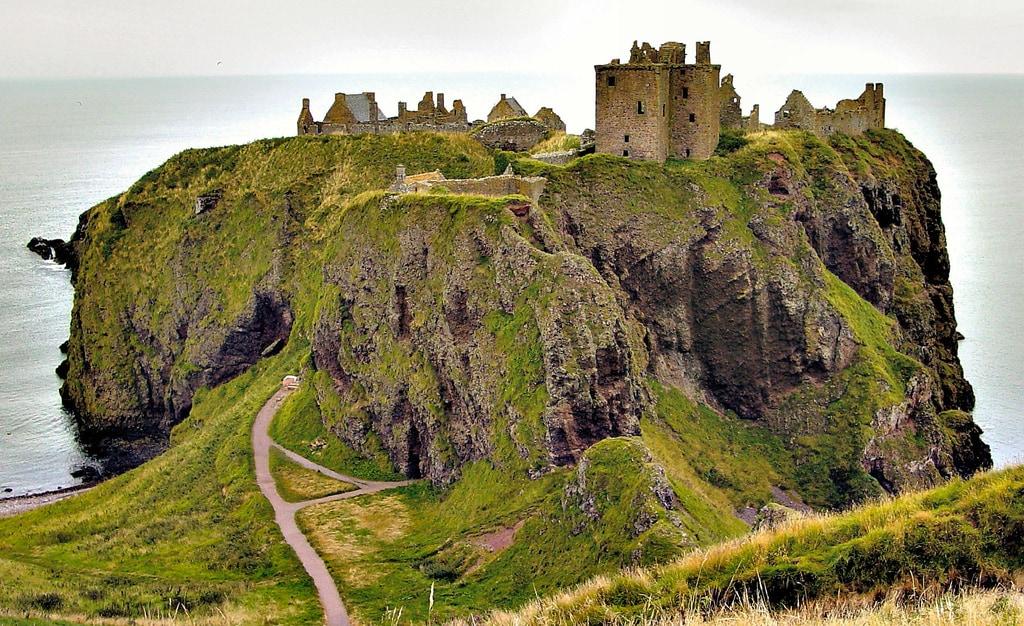 Dunnottar Castle. Foto di Brian Yap