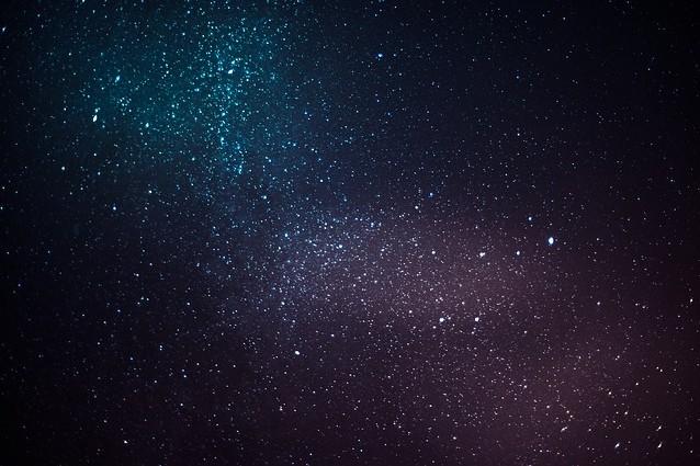 Cielo stellato – Foto Pixabay