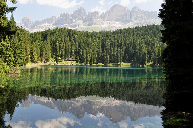 Lago di Carezza, Val d'Ega (Credits: Bernard Blanc)