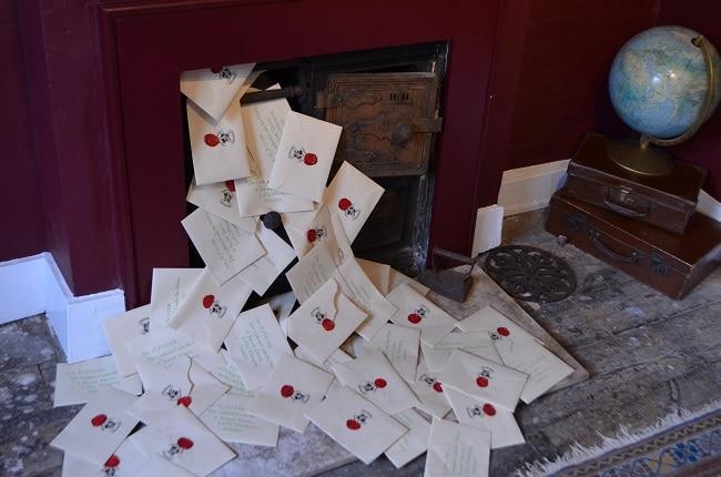 House of MinaLima lettere di accettazione di Hogwarts