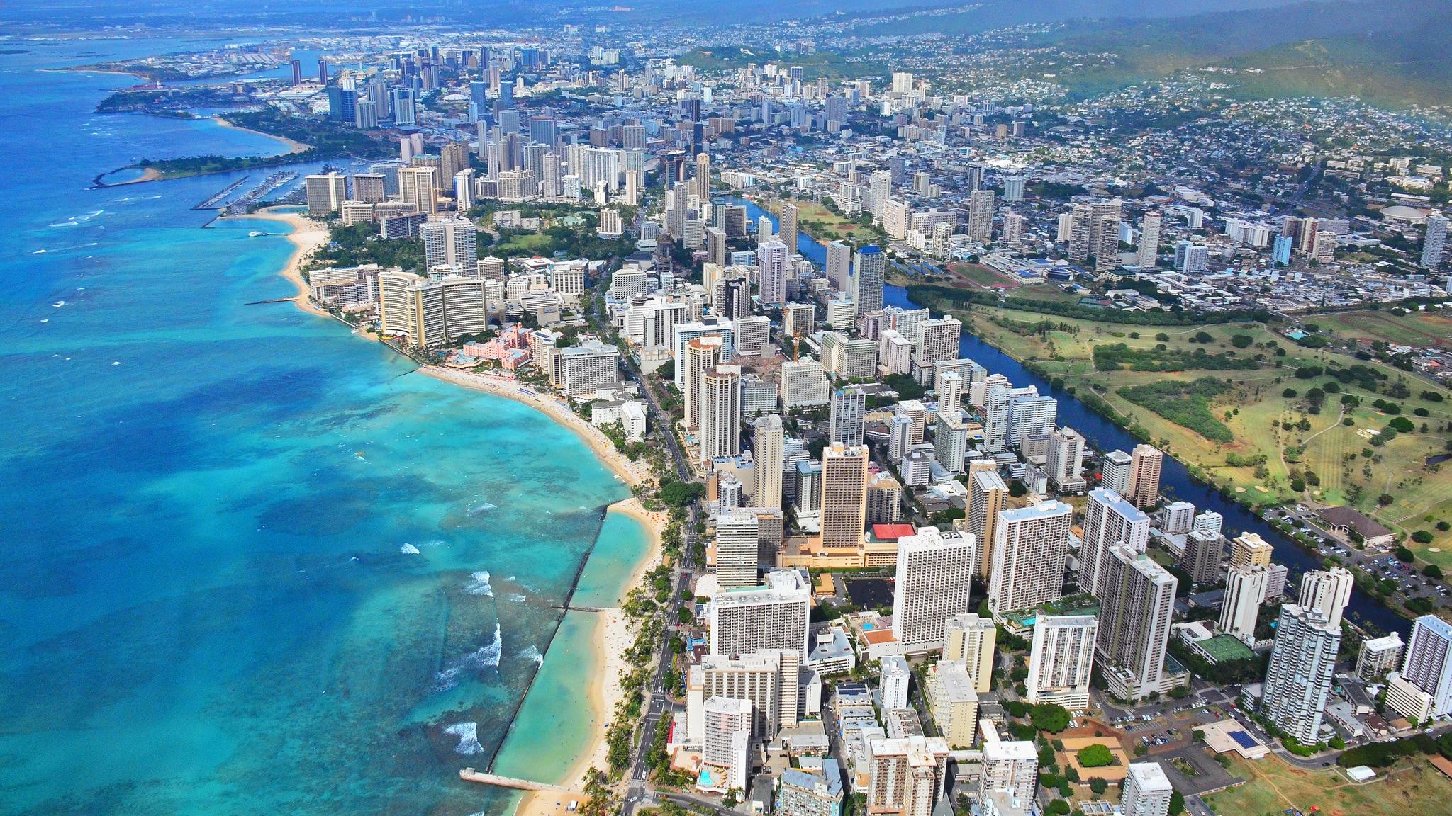 Honolulu. Foto di Edmun Garman