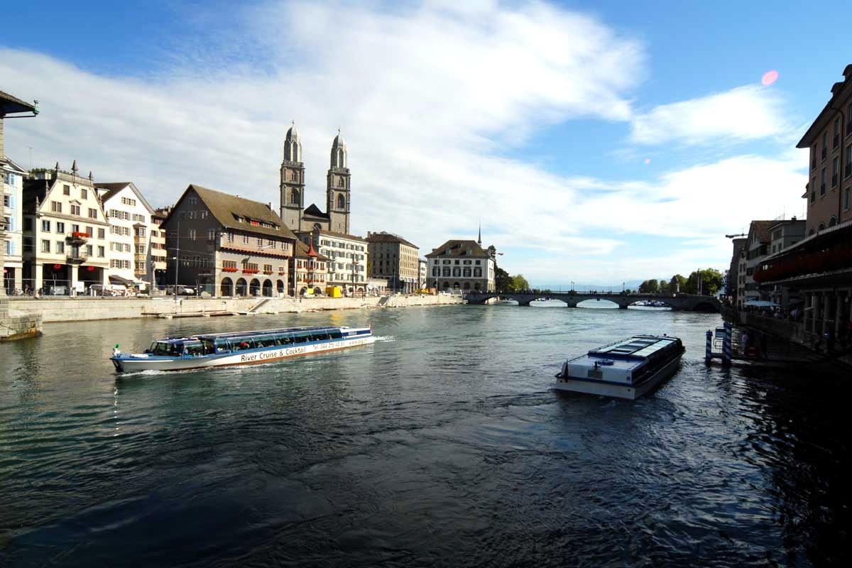Zurigo. Foto da Wikipedia