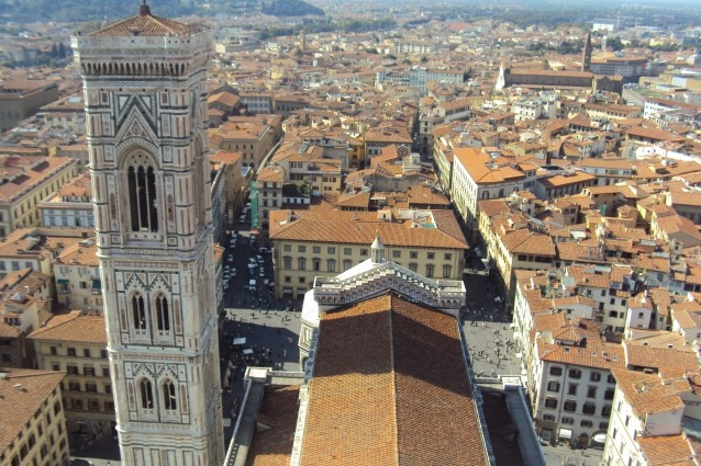 Panorama di Firenze – Foto Wikimedia Commons