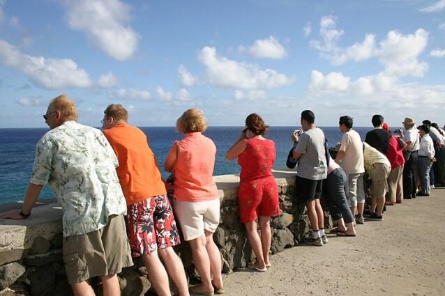 Un gruppo di turisti – Foto Wikipedia
