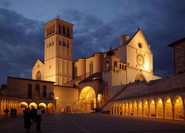 Assisi, Basilica di San Francesco – Foto: Wikimedia Commons