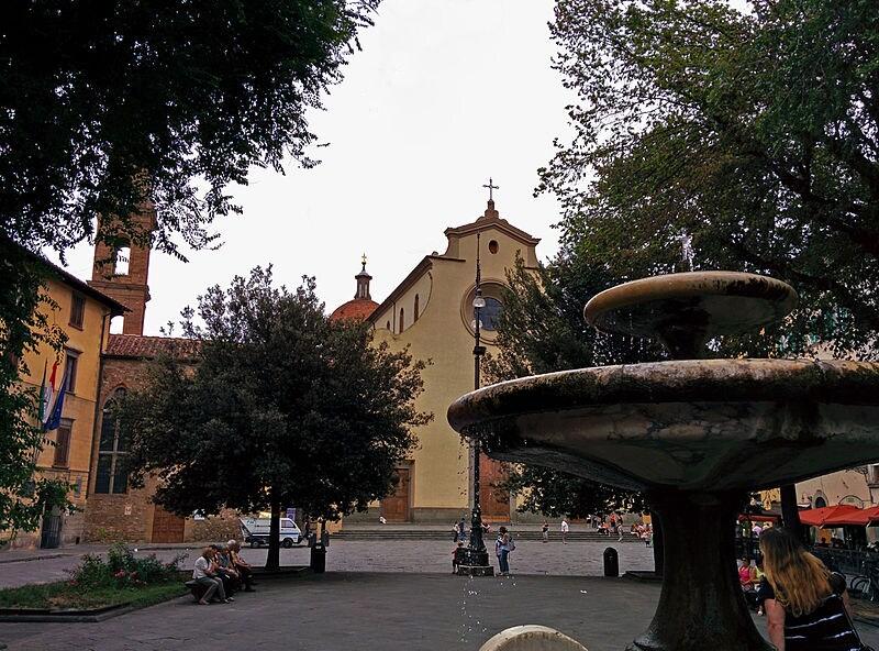 Firenze, Piazza Santo Spirito – Foto Wikimedia Commons