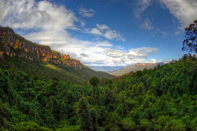Veduta delle Blue Mountains con le Tre Sorelle – Credits: mariusz kluzniak