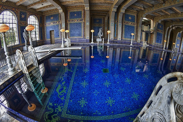 Castello di Hearst, Piscina Romana – Credits: Ross Manges Photography