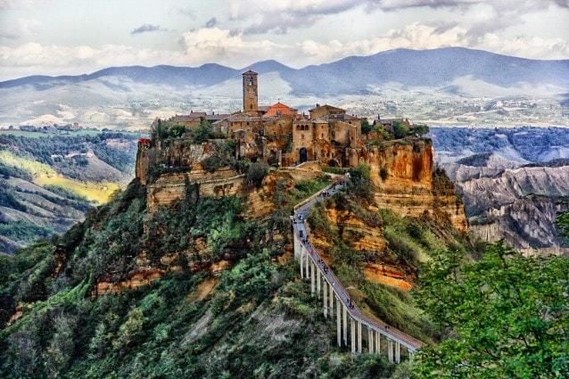 Civita di Bagnoregio. Foto da Flickr