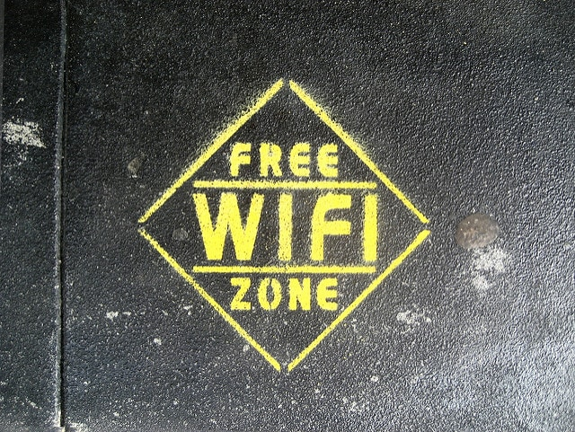 Free Wi–Fi. Foto da Flickr