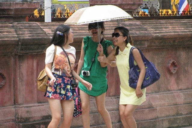 Turiste cinesi – Credits: Chinese Tourists