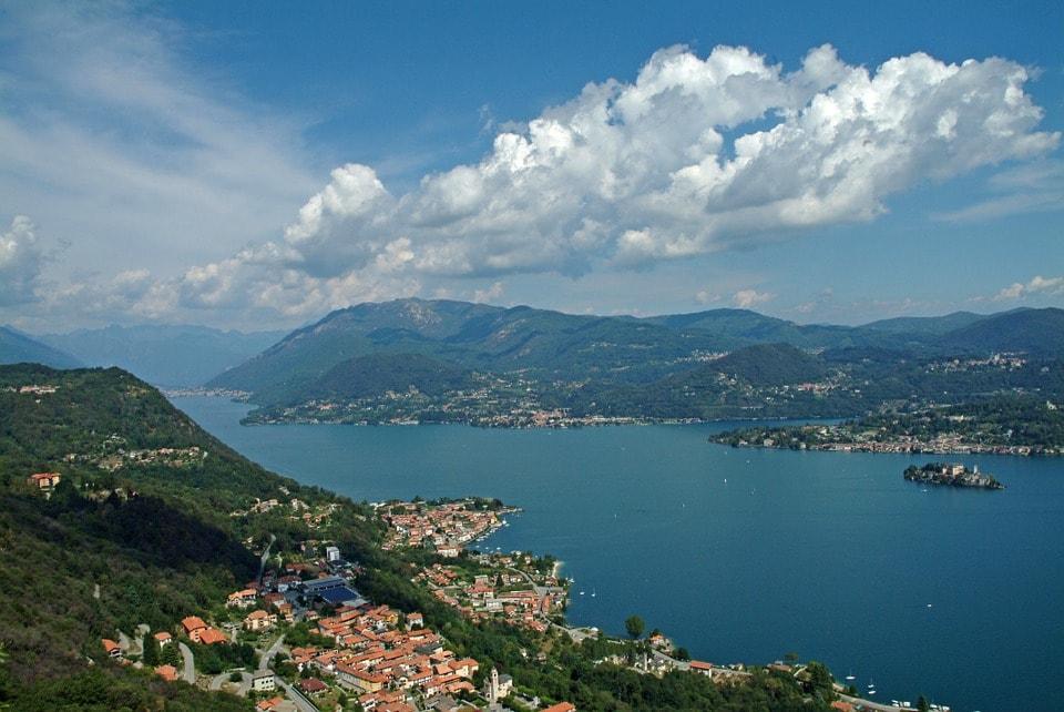 Veduta del Lago d'Orta. Foto di Fabio Valeggia