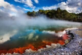 Nuova Zelanda, le meraviglie naturali del parco Wai-O-Tapu