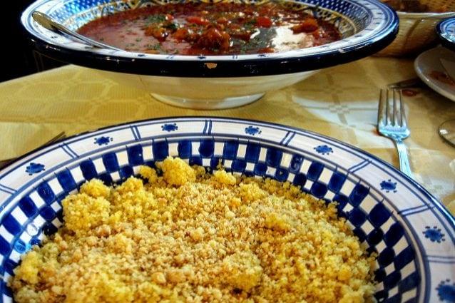 Un appetitoso piatto di cous cous – Credits: Flavio Leone