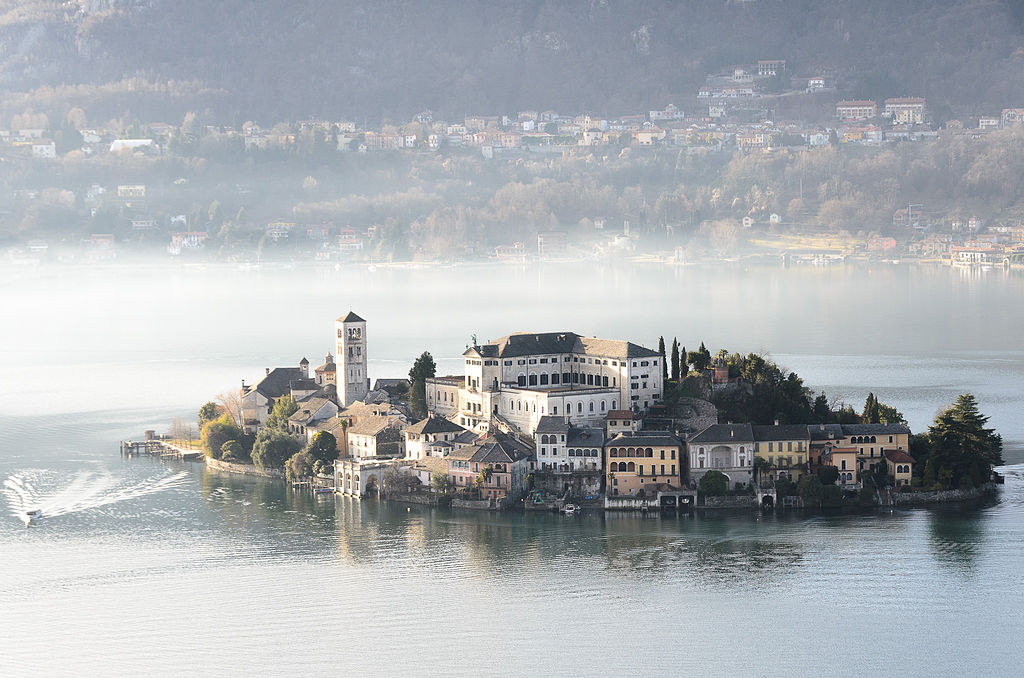 Isola di San Giulio. Foto di Luca Casartelli