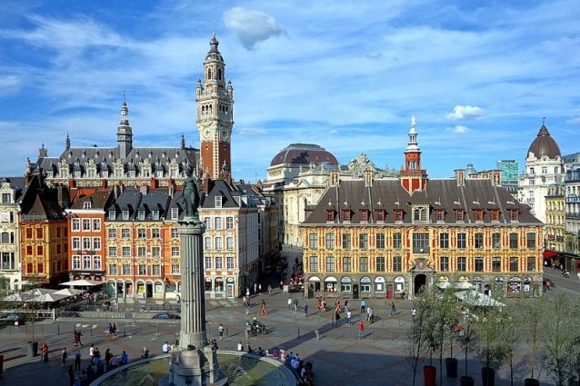 Grand' place, Lille. Foto da wikipedia