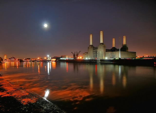 Battersea Power Station. Foto di Cat Burton