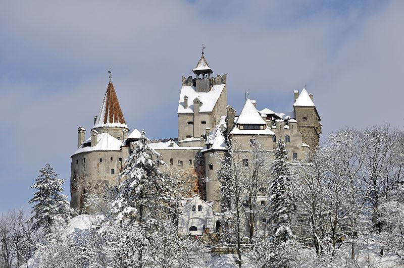 Castello di Bran. Foto da Wikipedia
