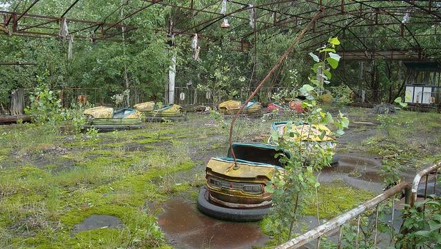 Pripyat. Foto di Dustin Hammond