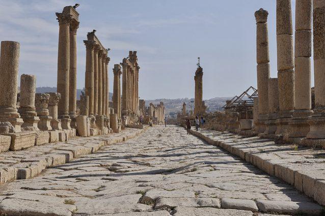 Jerash, Cardo Maximus – Foto di Edgardo W. Olivera