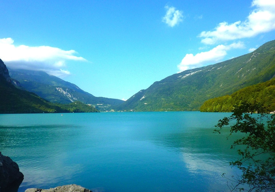 Lago di Molveno. Foto da pixabay
