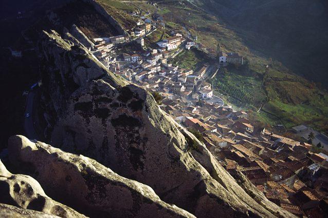 Panoramica di Pietrapertosa. Foto di Basilicata turistica