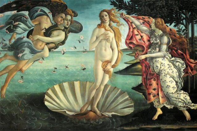 Sandro Botticelli, Nascita di Venere – Firenze, Uffizi