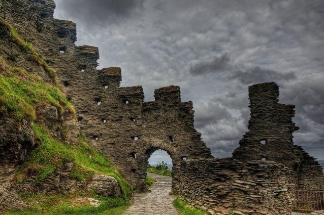 Rovine del Castello di Tintagel – Foto di Neil Howard