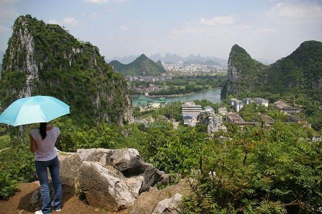 Veduta di Guilin, Cina – Foto Wikimedia Commons