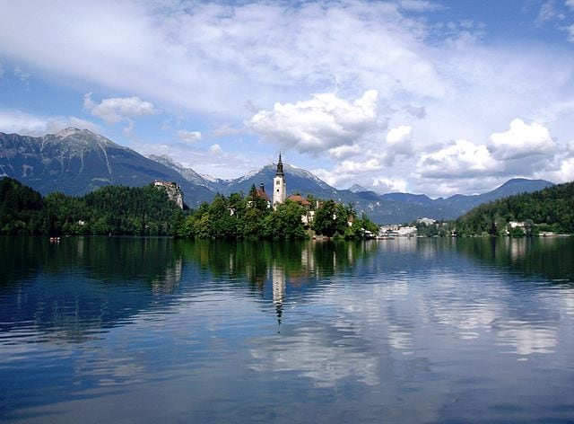 Isola di Bled – Foto Wikimedia Commons