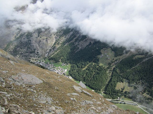 Saas–Almagell – Foto Wikimedia Commons