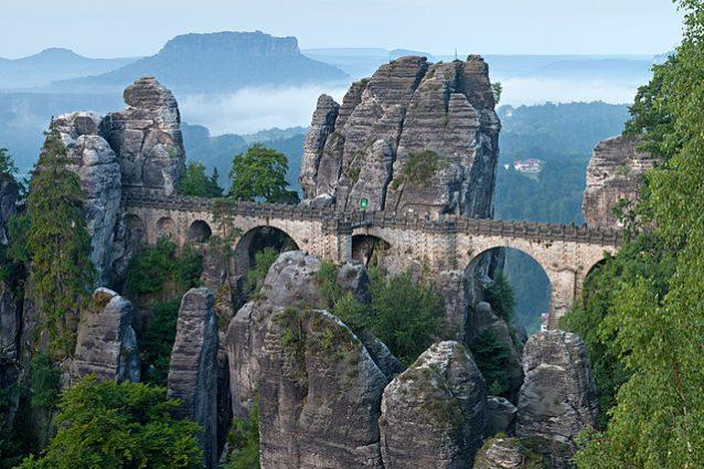 Ponte di Bastei – Foto Wikimedia Commons