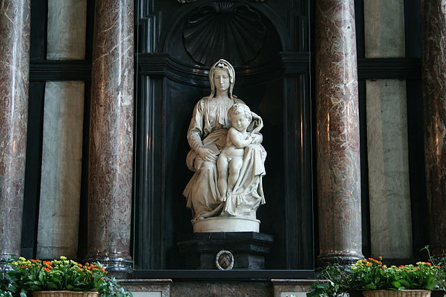 Michelangelo, Madonna di Bruges – Foto Wikimedia Commons