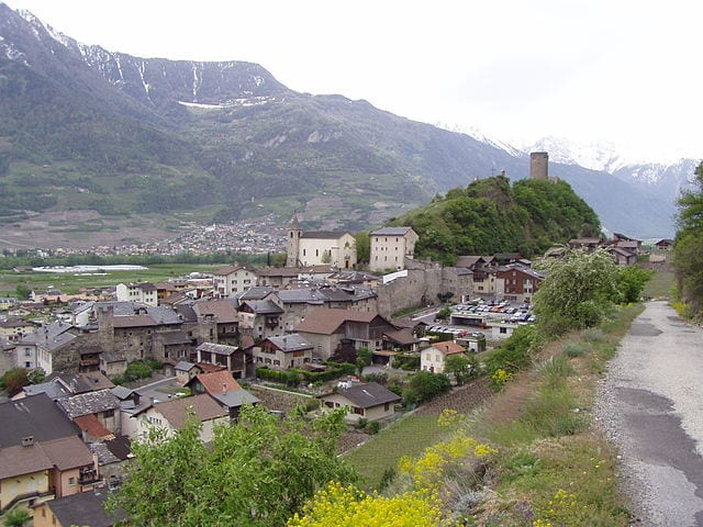 Saillon – Foto Wikimedia Commons