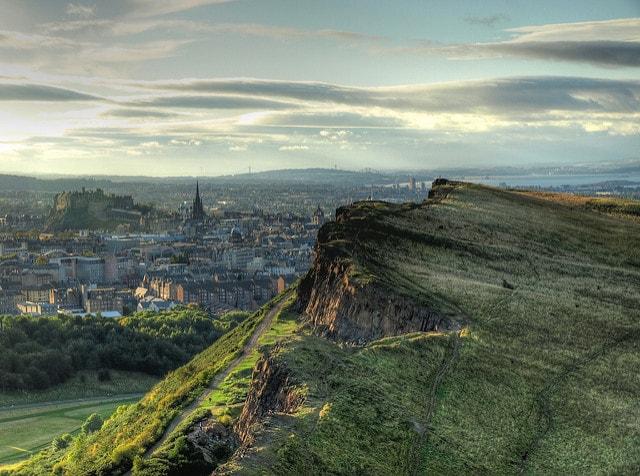 Arthur's Seat, Edimburgo – Foto di Antonio M. Mora García