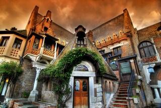A Roma c'è una casa uscita da un libro delle fiabe