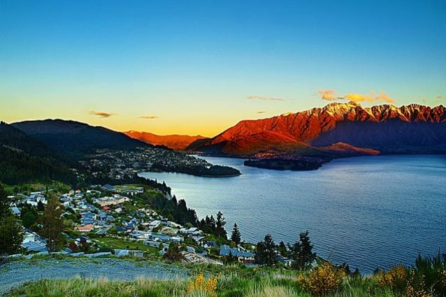 Veduta di Queenstown – Foto Wikimedia Commons